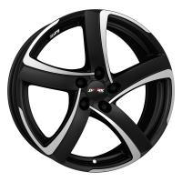 Литой колесный диск Alutec Shark racing black front polished 6,0x16 4x108 ET40 D63,3