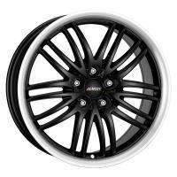 Литой колесный диск Alutec Black Sun racing black lip polished 8,0x17 5x105 ET40 D56,6