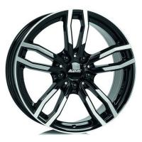 Литой колесный диск Alutec Drive diamond black front polished 8,0x17 5x120 ET30 D72,6