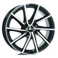 Литой колесный диск Alutec Singa diamond black front polished 7,5x18 5x114,3 ET49,5 D67,1