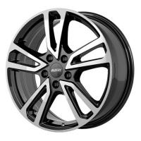 Литой колесный диск Alutec Tormenta diamond black front polished 7,0x17 5x112 ET49 D57,1