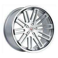 Кованый колесный диск Vissol F-570 Silver with Machined Face and Chrome Lip 10,0x19 5x112 ET36 D66,6