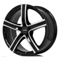 Литой колесный диск Rial Quinto Diamond black front polished 9,0x19 5x150 ET50 D110,1